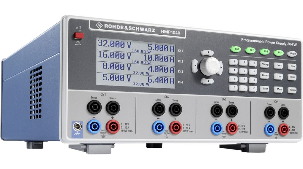Köp Bench Top Power Supply, Number of Outputs=4, 384 W, Voltage Max. 32 V, Current Max. 10 A, Programmable
