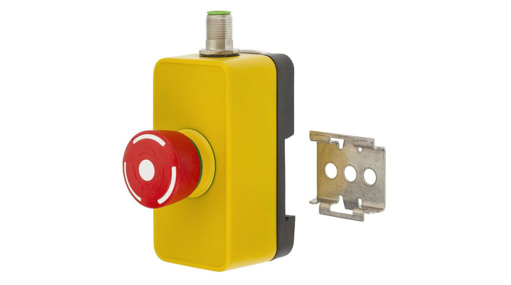Köp Emergency Stop Switch Pushlock Turn Reset Operator 8-Pin M12 Plug