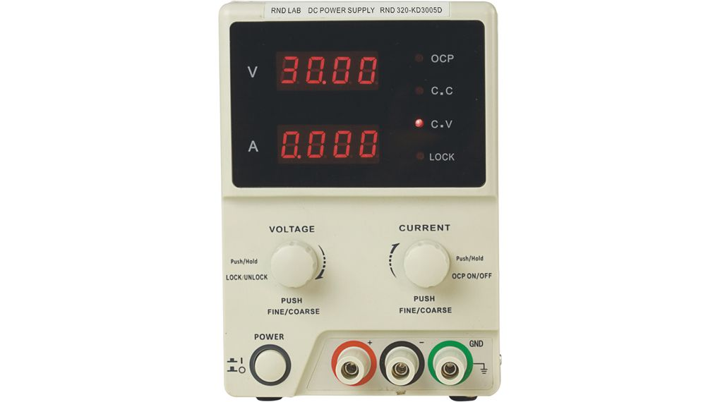 Köp Laboratory Power Supply 1 Ch. 0...30 VDC 5 A