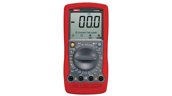 Köp Multimeter digital RMS 1999 digits 750 VAC 1000 VDC 20 ADC