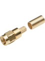 SMA cable connector, straight HFX-1336 50 Ohm, 18 GHz, Male, SMA Köp {0}